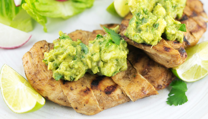 Chicken and Guacamole Meal Pre Workout Foods