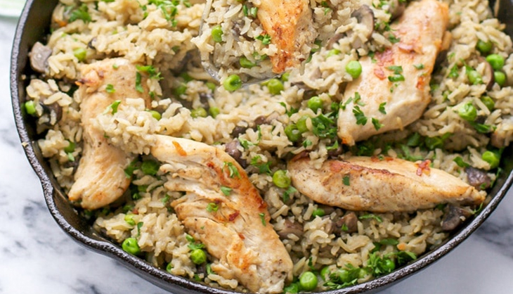 Bulk Up Fast With This Rice, Chicken and Vegetable Bodybuilding Recipe