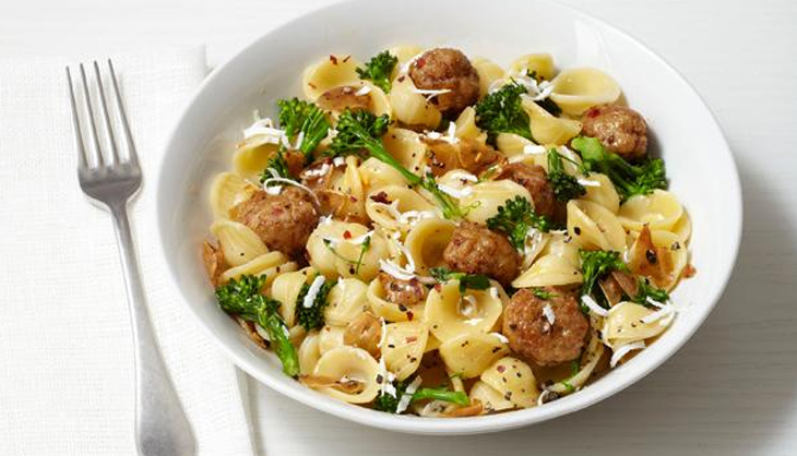 Pump Up Your Performance During Workout <br />With Turkey Meatballs, Pasta & Salad