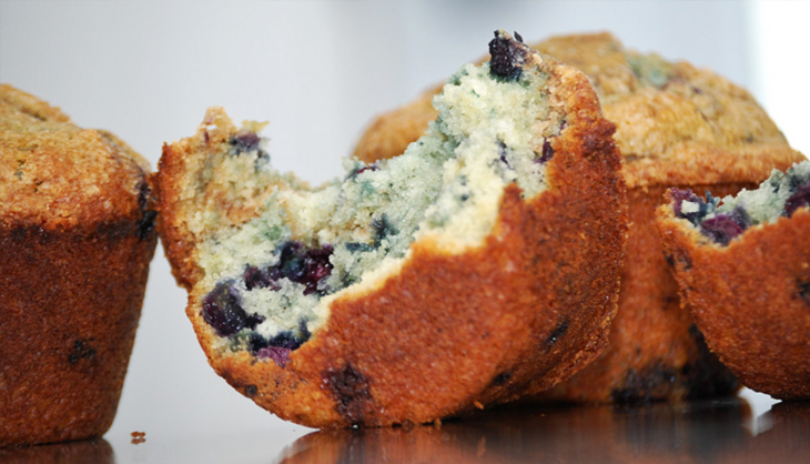 Boost Your Stamina and Endurance with Blueberry Maca Muffins