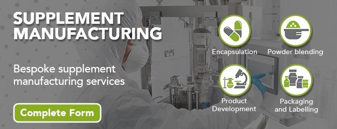 Supplement Manufacturing